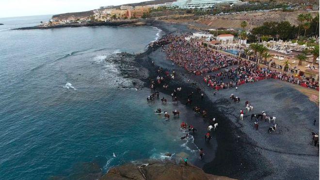 Adeje celebra el día grande de San Sebastián