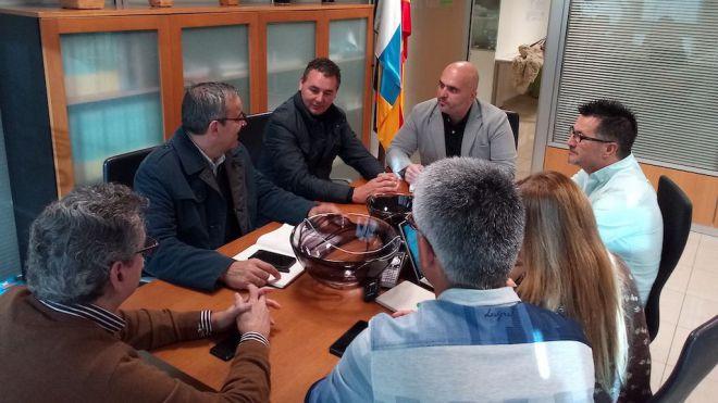 Gesplan y el Ayuntamiento trabajarán unidos para el nuevo PGO de Arico