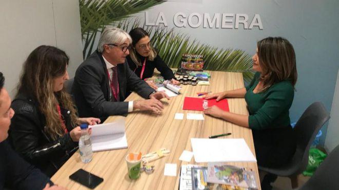 La Gomera cierra FITUR con nuevos acuerdos de promoción en los principales países europeos