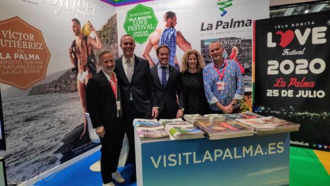 El Isla Bonita Love Festival Palma se promociona en Fitur Gay LGTB como evento en una isla de 'amor sin etiquetas'