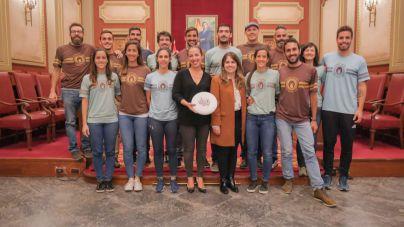 Santa Cruz felicita al Guayota Ultimate por su título de campeones de España de frisbee