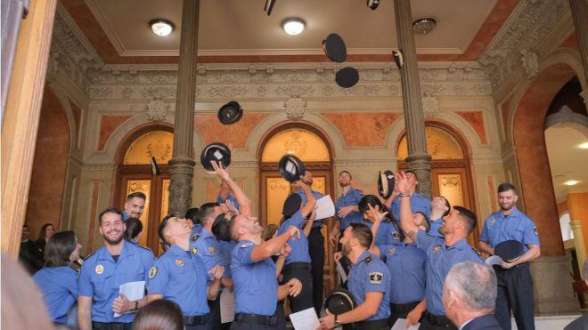 La Policía Local de Santa Cruz suma 21 nuevos agentes al servicio de la ciudad