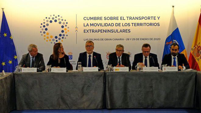 Canarias, Baleares, Ceuta y Melilla solicitarán de manera conjunta al Estado mejoras para garantizar una conectividad más igualitaria