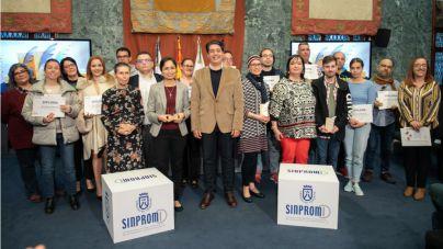 Sinpromi entrega los premios del III Concurso de microrrelatos 'Cuenta conmigo'