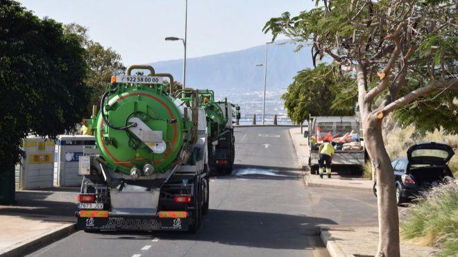 Las playas de Bocacangrejo, La Nea y Radazul, en El Rosario seguirán cerradas al baño hasta el lunes