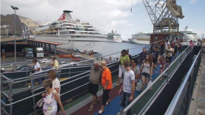 Santa Cruz de Tenerife recibirá casi 70.000 cruceristas en febrero, con un gasto de 2,5 millones