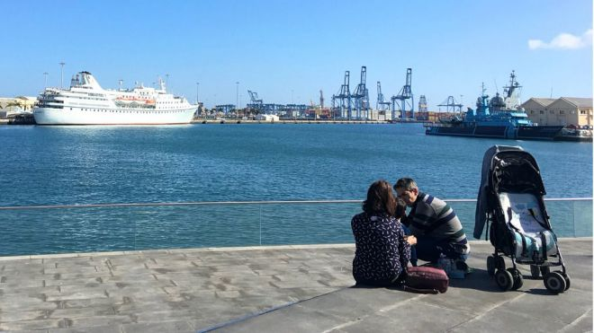Febrero comienza con cruceros en Las Palmas de Gran Canaria
