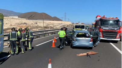 Bomberos de Tenerife realiza cinco rescates durante el fin de semana