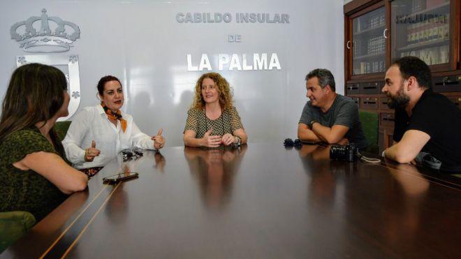 La directora Blanca Rosa Blanco comienza en La Palma la grabación del documental 'Indianos'