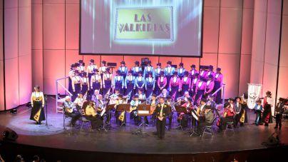 Las Valkirias logran el primer premio de interpretación en el concurso de rondallas