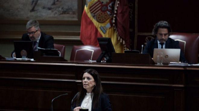 """""""En la era de la transparencia no conocemos todavía el pacto ni el programa que guía la actuación del Gobierno de Canarias"""""""