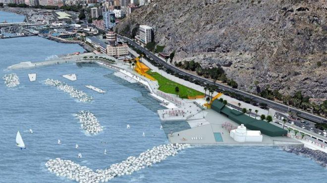 Puertos de Tenerife saca a concurso las obras de la playa de Valleseco por 16,8 millones