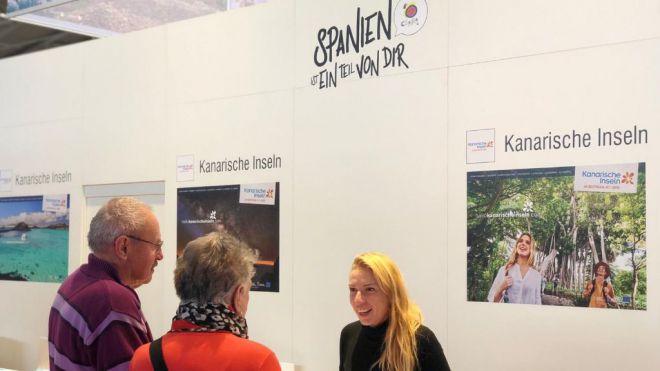 Turismo de Canarias asiste a la feria de turismo F.R.E.E. en Munich, la más importante de Baviera