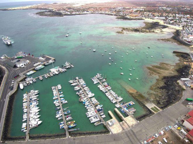 La Consejería licita por 2,5 millones la ampliación de atraques en el Puerto de Corralejo, en Fuerteventura