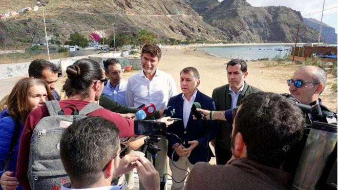 CC-PNC y PP convocan un pleno sobre el Plan Especial Las Teresitas para evitar su paralización