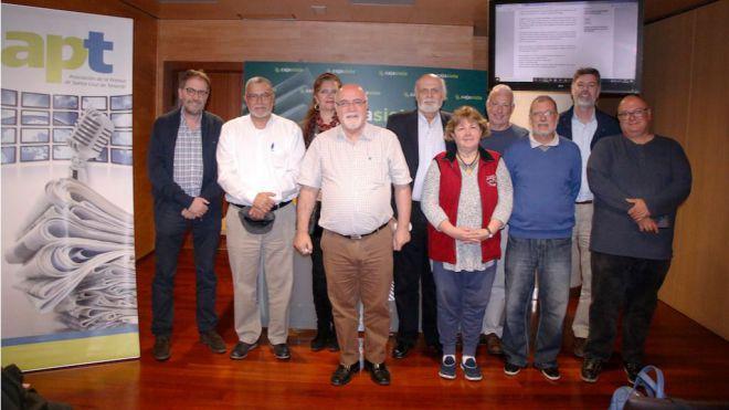 Salvador García Llanos, reelegido presidente de la Asociación de la Prensa de Tenerife