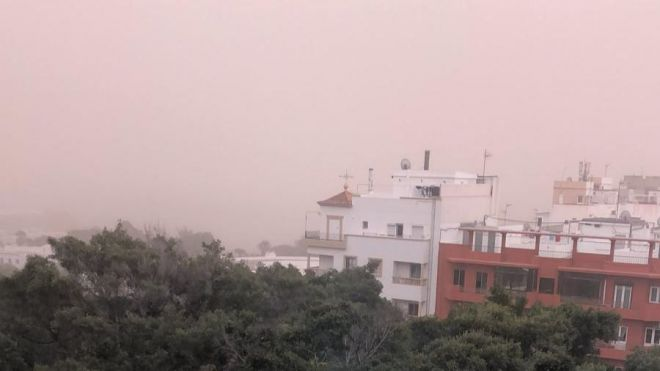 El Gobierno de Canarias declara la alerta por calima