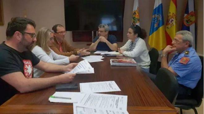 Suspenden los actos del Carnaval de Puerto de la Cruz por el viento