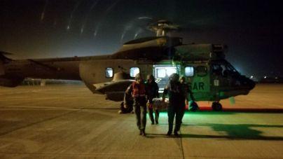 El Ejército del Aire evacua desde Lanzarote a una mujer que sufrió un ictus