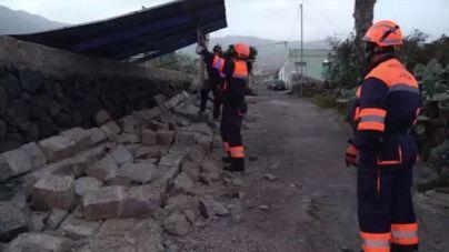 El 1-1-2 registra cerca de 200 incidentes por el viento