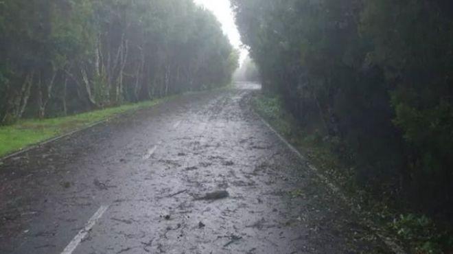Canarias registra vientos de más de 160 km/h durante la noche
