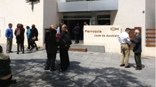 Detenido tras robar cuatro veces en una misma iglesia de Santa Cruz de Tenerife y llevarse 14.000 euros