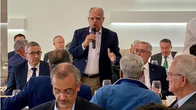 Curbelo propone que Canarias lidere la construcción del Puerto de Fonsalía