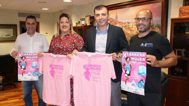 Los Realejos vuelve a teñirse de rosa este domingo con la Carrera de la Mujer y en favor de niños con cáncer