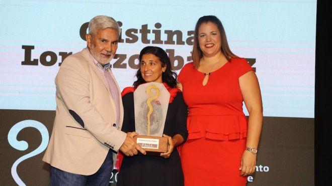 Cristina Lorenzo Ibáñez, premio Abinque 2020