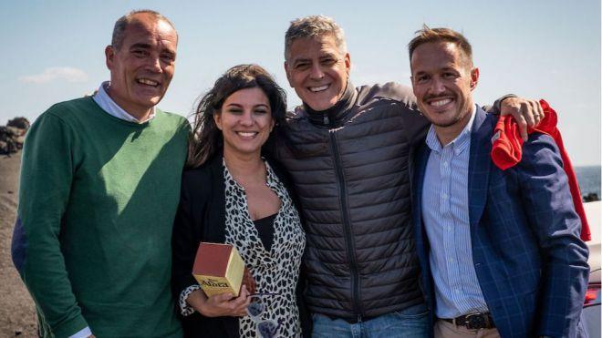 El rodaje de la película de George Clooney en La Palma generó un gran impacto promocional y económico en la isla