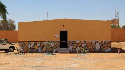 El Cabildo inaugura en Tinduf un centro de cooperantes y el primer centro para menores con autismo en el desierto del Sáhara