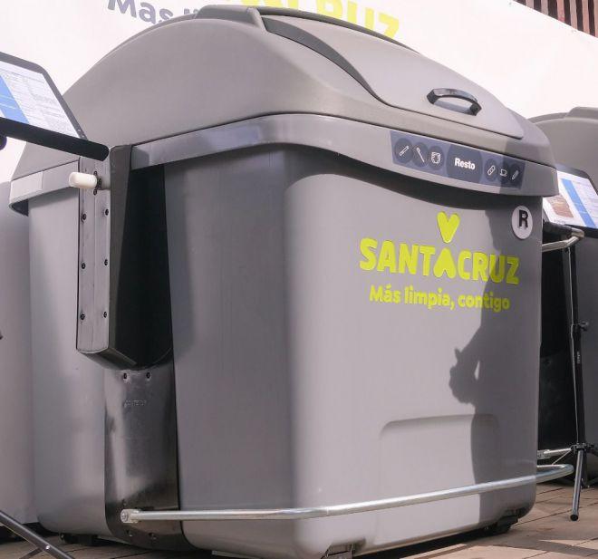 Santa Cruz renovará la totalidad de sus contenedores de basura en los próximos tres meses