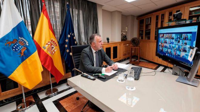 Canarias solicita todos los fondos necesarios para garantizar los servicios sanitarios y el empleo