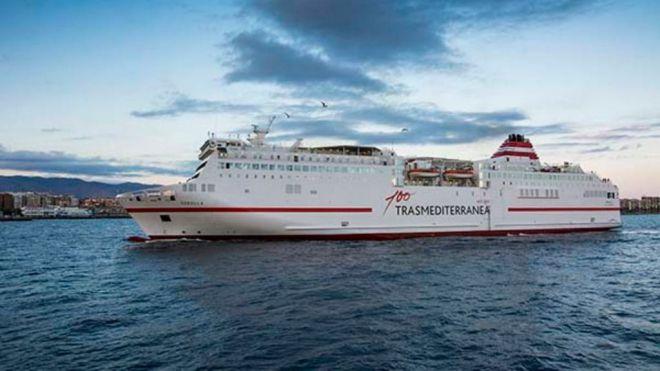 Naviera Armas Trasmediterránea garantiza el abastecimiento entre Cádiz y Canarias