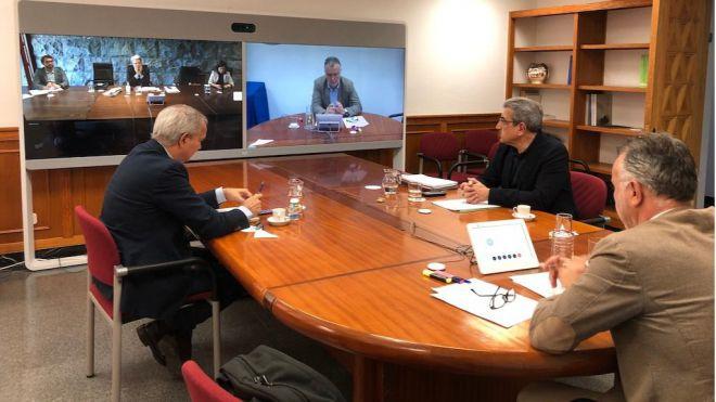 Primera reunión y adopción de medidas del Comité de Gestión de Emergencia Sanitaria del Gobierno de Canarias
