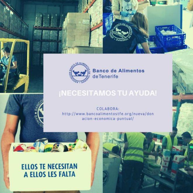 """""""Banco de Alimentos de Tenerife sigue con su actividad"""""""