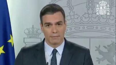 Sánchez comunica la prórroga del estado de alarma y da mayor papel a las Fuerzas Armadas