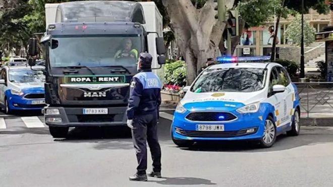 La Policía Local de Santa Cruz levanta 38 actas e intercepta 10 vehículos en el segundo lunes de estado de alarma