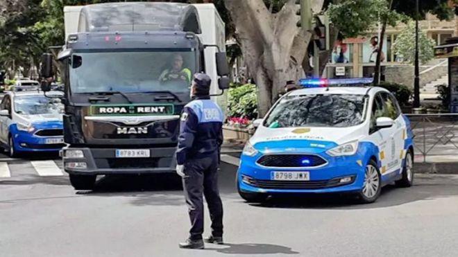 Una persona detenida y 834 identificadas por la Policía Local en el área metropolitana de Tenerife