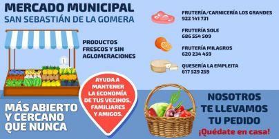 Comerciantes del Mercado Municipal ponen en marcha el servicio de entrega a domicilio en San Sebastián