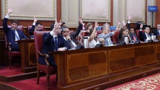 Partido Popular y Coalición Canaria exigen celebrar un Pleno telemático del Ayuntamiento de Santa Cruz