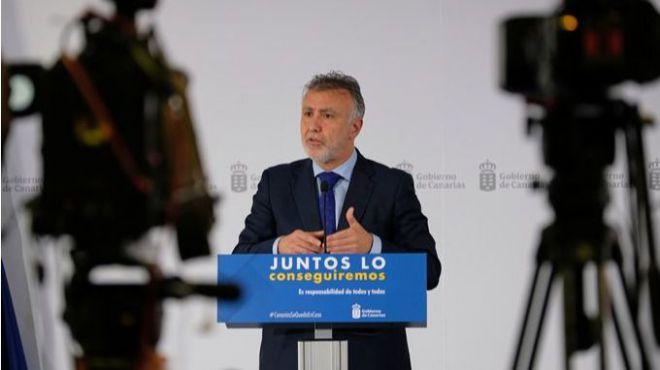 """Torres afirma que """"Canarias va por el buen camino"""" en la gestión de la crisis sanitaria por la COVID-19"""