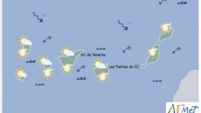Canarias registra un marzo con temperaturas ligeramente por encima de lo normal y húmedo