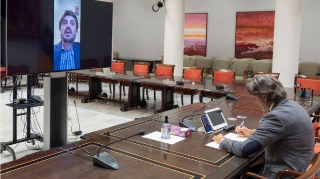 Matos analiza con Marichal las propuestas del sector turístico para afrontar la realidad complicada que atraviesa