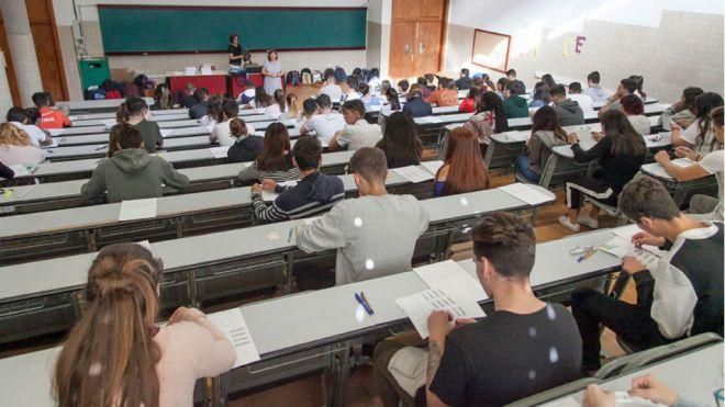 Las universidades canarias publican el calendario de exámenes de la EBAU