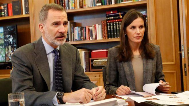 Los Reyes se interesan por la situación hospitalaria del COVID-19 en Canarias
