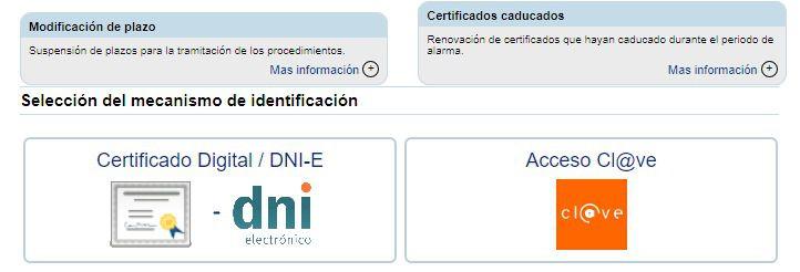 La sede electrónica de la CAC facilita el acceso para procedimientos básicos con el DNI y un mensaje al móvil