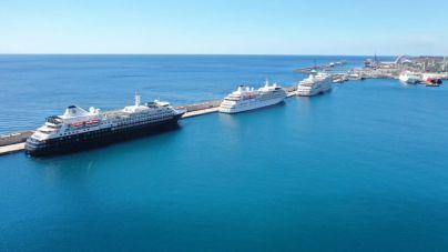La naviera Silversea Cruises realiza el trasbordo de tripulantes a tres de sus barcos