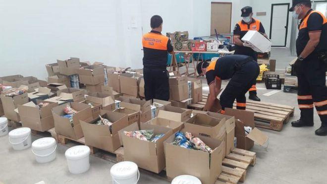 Protección Civil de Yaiza suma ya 700 servicios durante el estado de alarma
