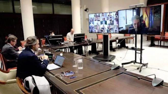 El Parlamento avala por unanimidad el decreto-ley de medidas para afrontar la crisis del coronavirus